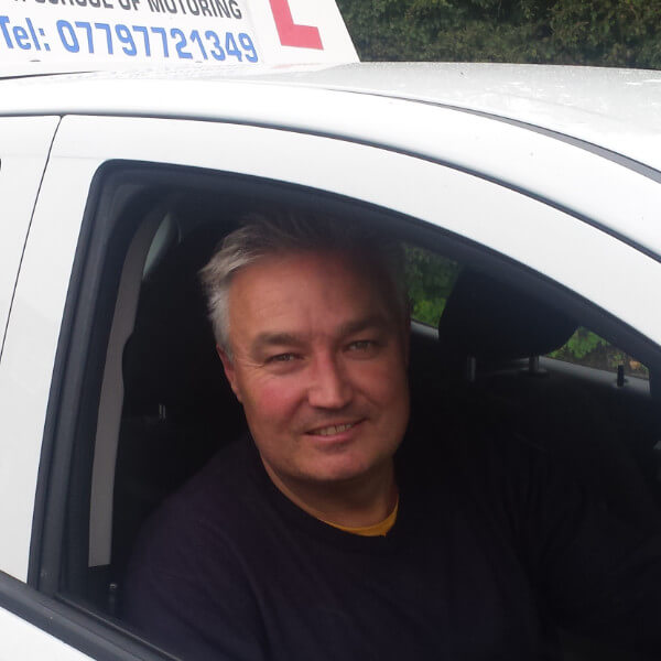 Driving instructor Piers Hickman profile photo