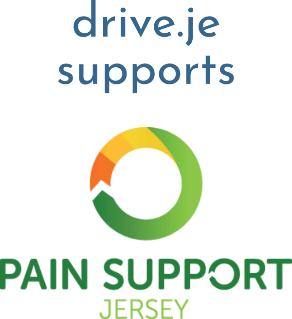 drive.je supports Pain Support Jersey footer link